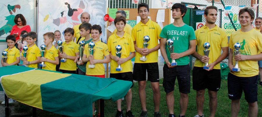 I vincitori del Trofeo Gigi Bacco 2019